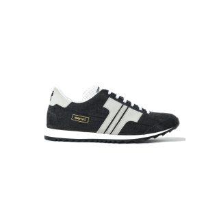 Tisza cipő - Martfű - Fekete-denim