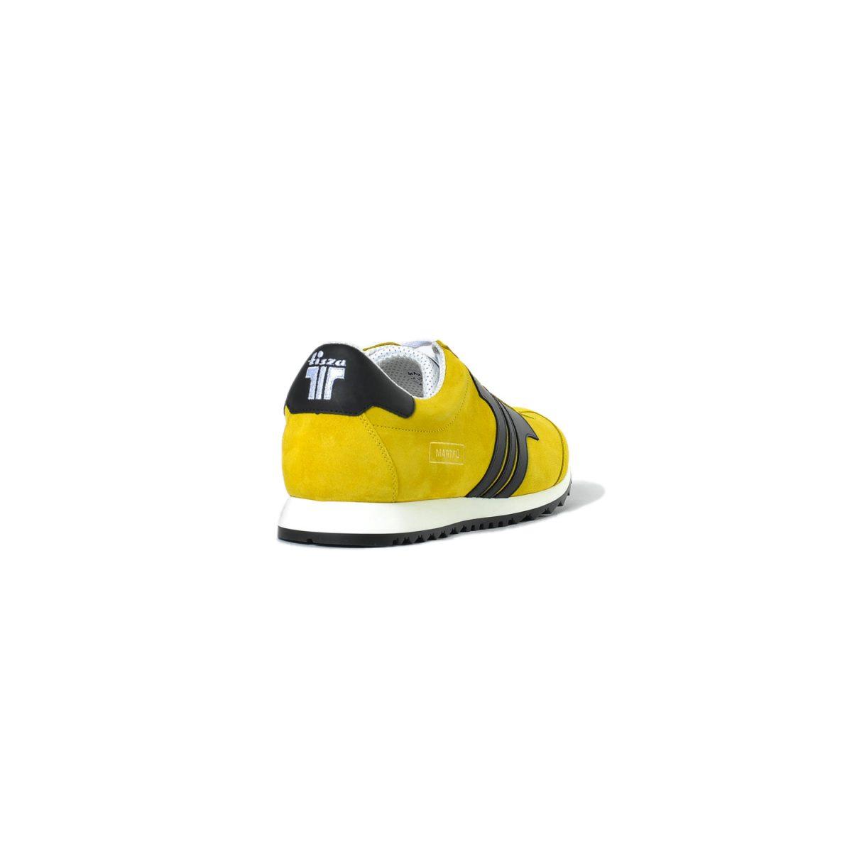 Tisza cipő - Martfű - Mustár-fekete