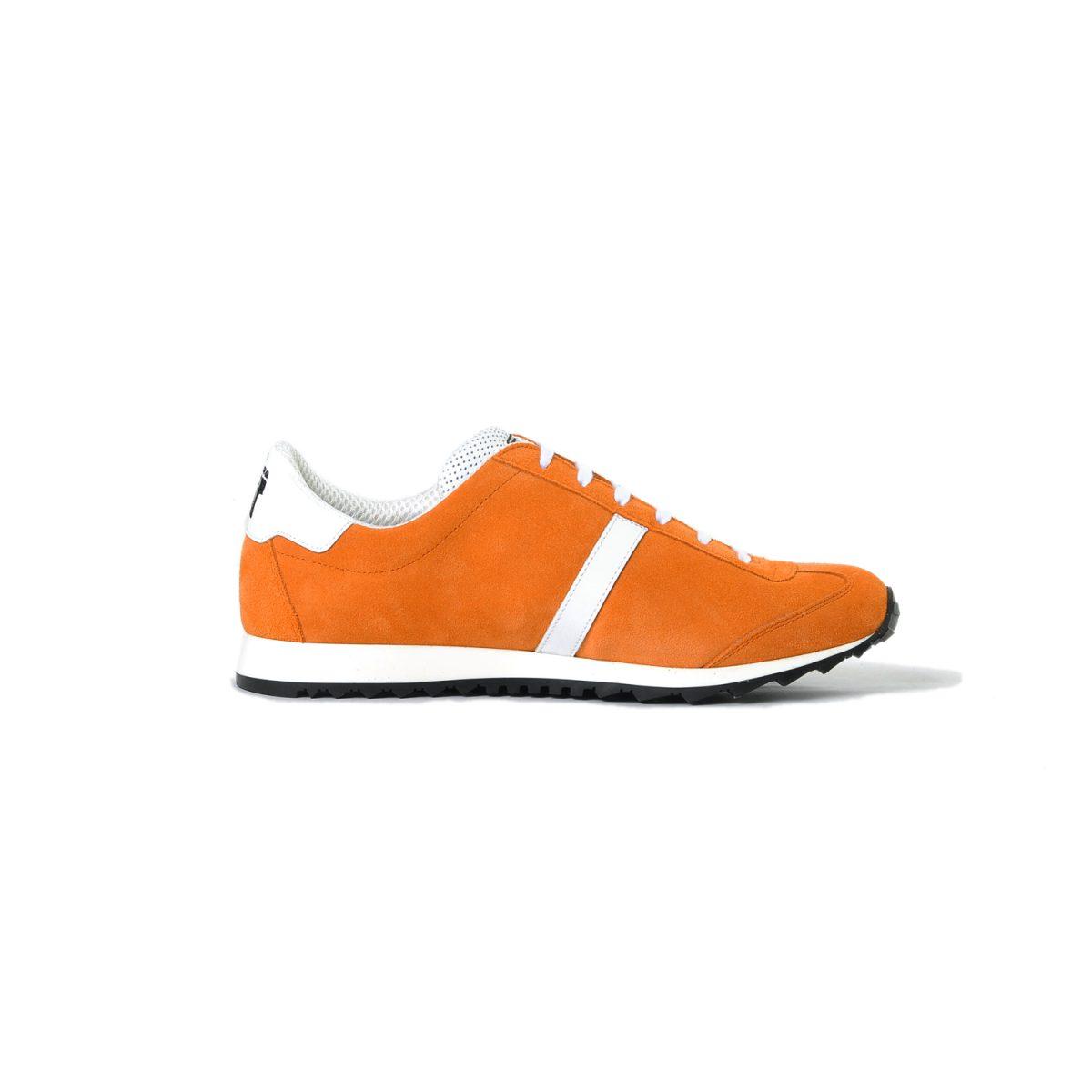 Tisza cipő - Martfű - Narancs-fehér