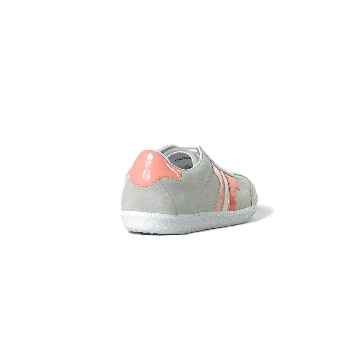 Tisza cipő - Comfort - Törtfehér-neon