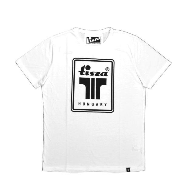 Tisza cipő - Póló - Fehér T logó