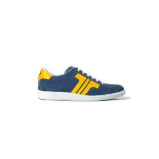 Tisza cipő - Comfort - Sötétkék-sárga