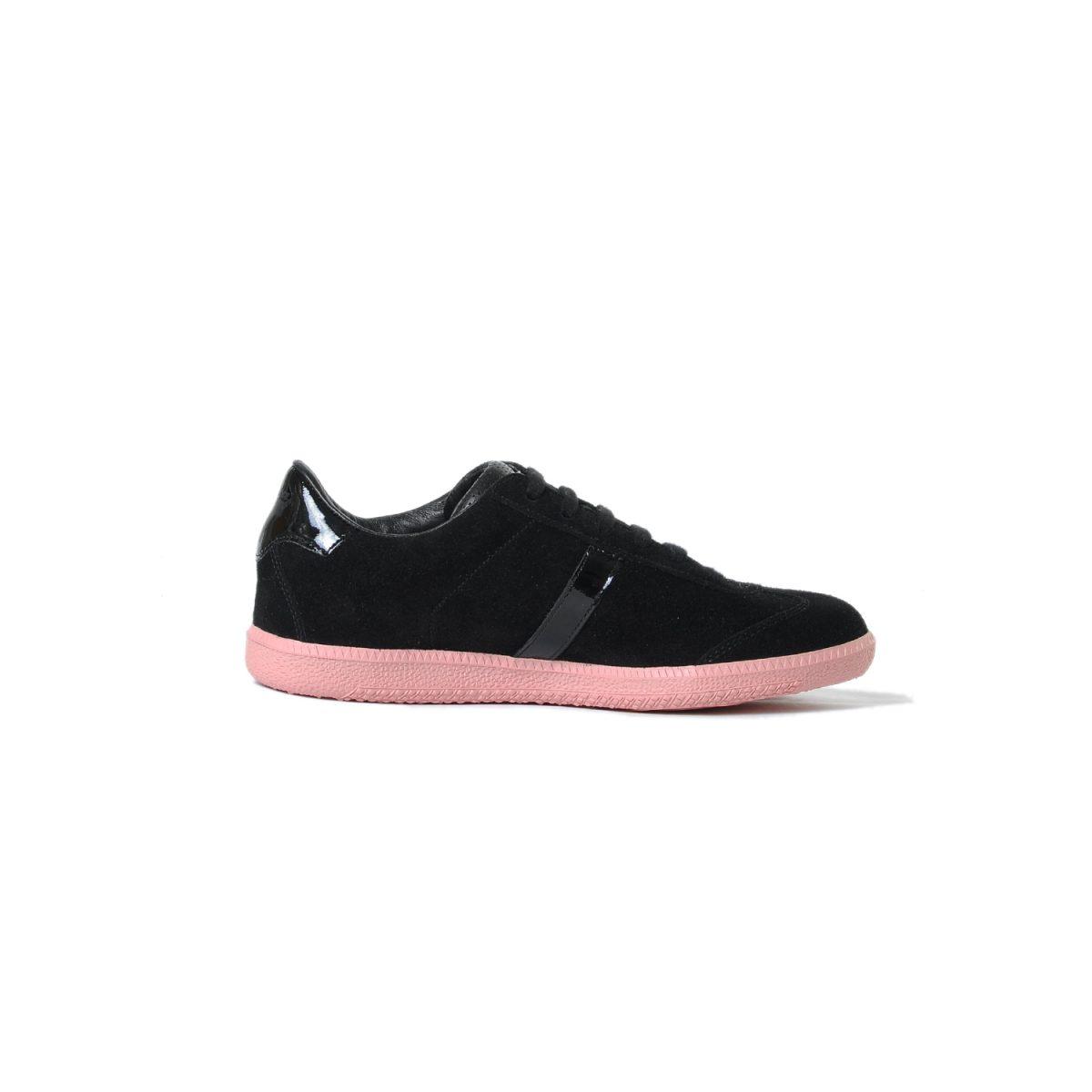 Tisza cipő - Comfort - Fekete-púder