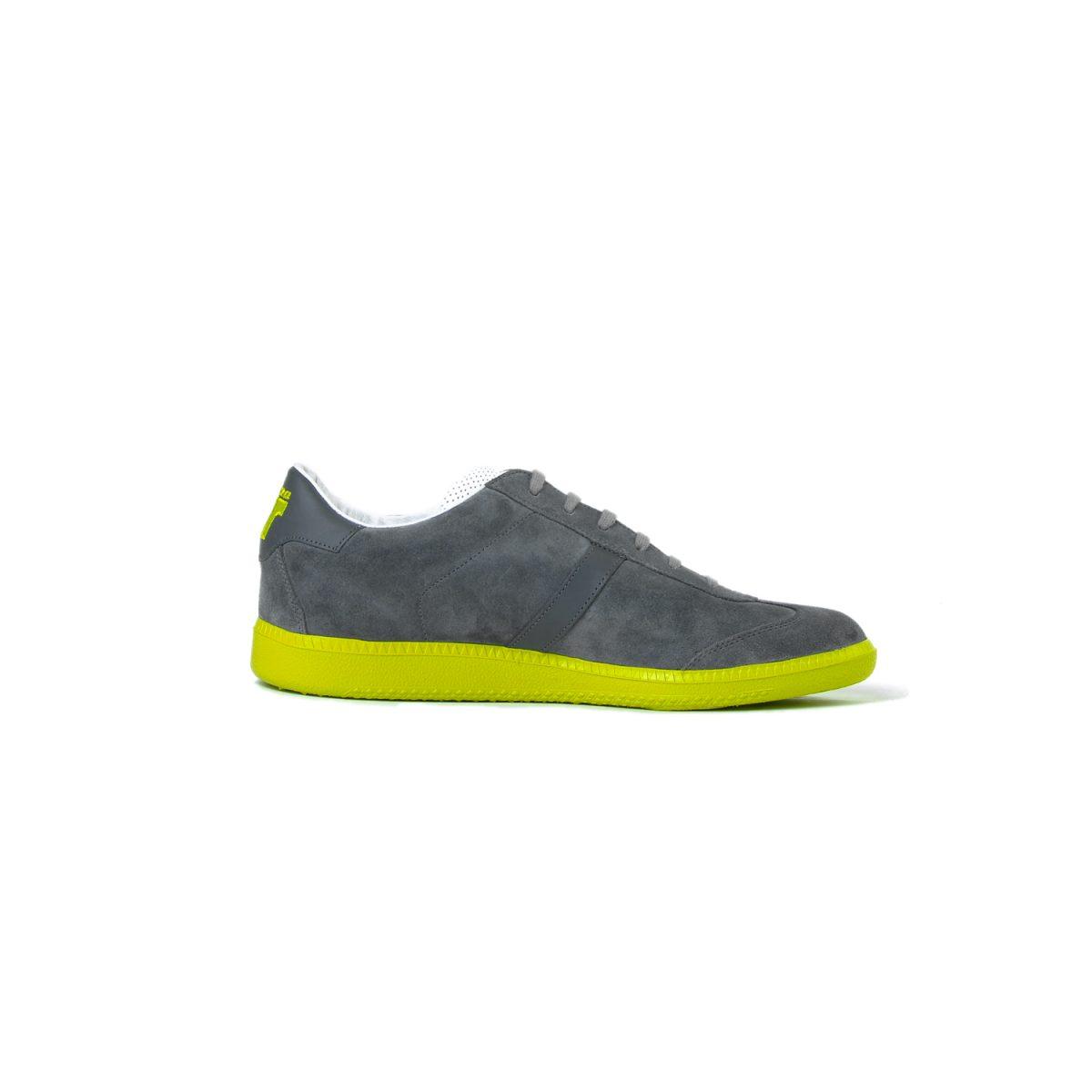 Tisza cipő - Comfort - Szürke-lime