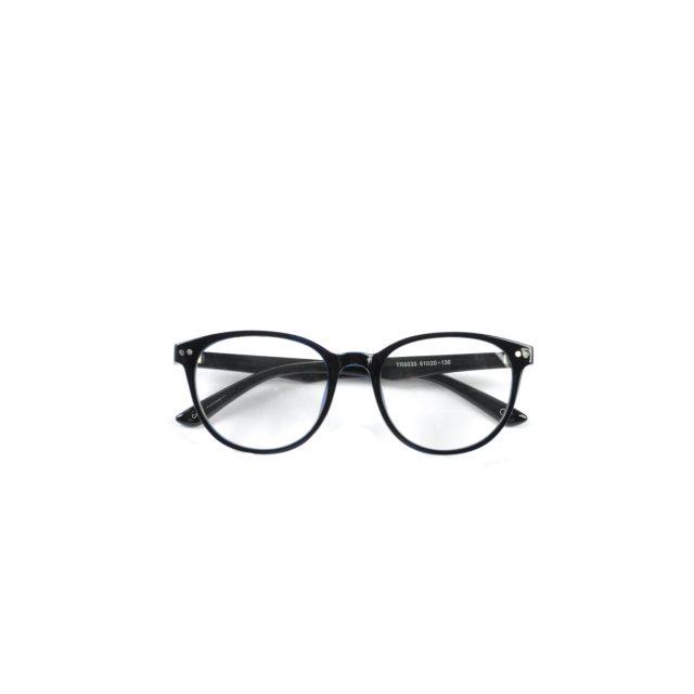 Tisza cipő - Optikai keret - Fekete