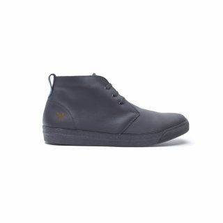 Tisza Shoes - Alfa - black royal padded