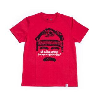 Tisza x Edző - Edző piros póló