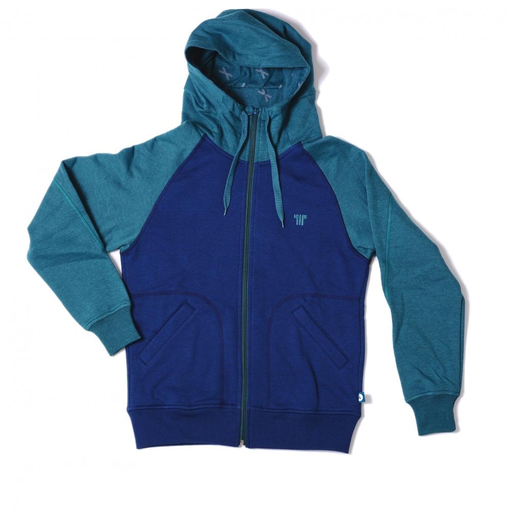 769ae0fbc807 Tisza Shoes - Pulóver - blue-aqua hoodie