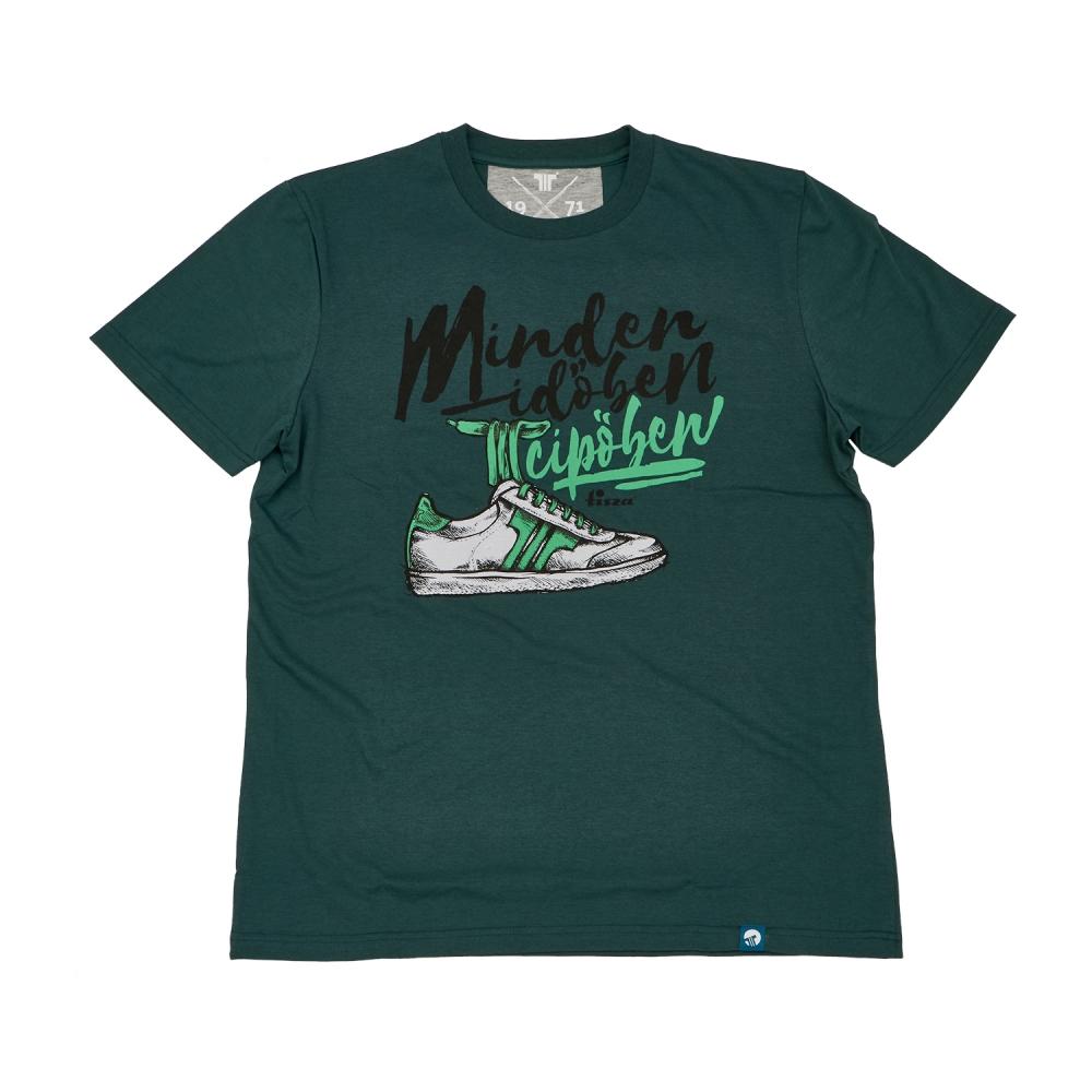 Tisza Shoes - Póló - Green