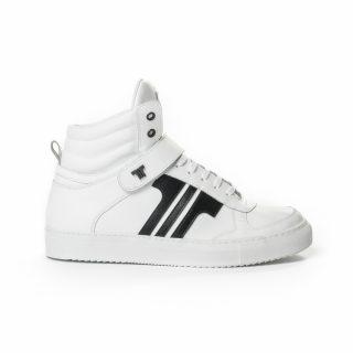 Tisza Shoes - M4 - White-black