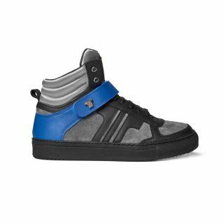 Tisza Shoes - M4 - Black-grey-silver