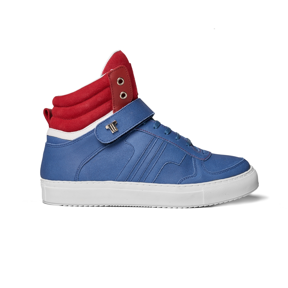 Tisza Shoes - M4 - Navy-white-red