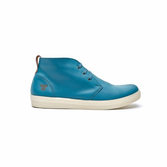 Tisza Shoes - Alfa - bluecoral-rust