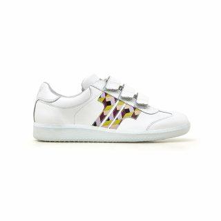Tisza Shoes - Compakt Delux - Joli-geo-white