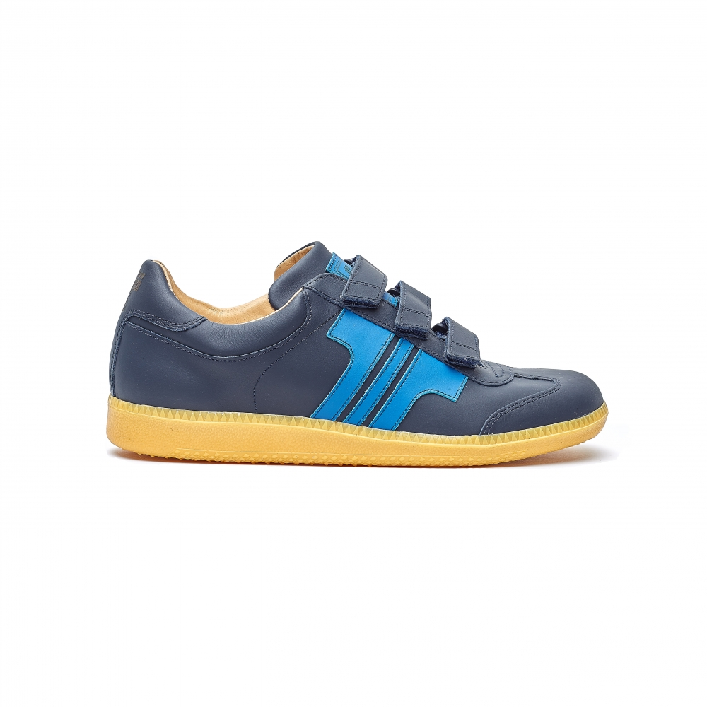 Tisza Shoes - Compakt Delux - darkblue-royal