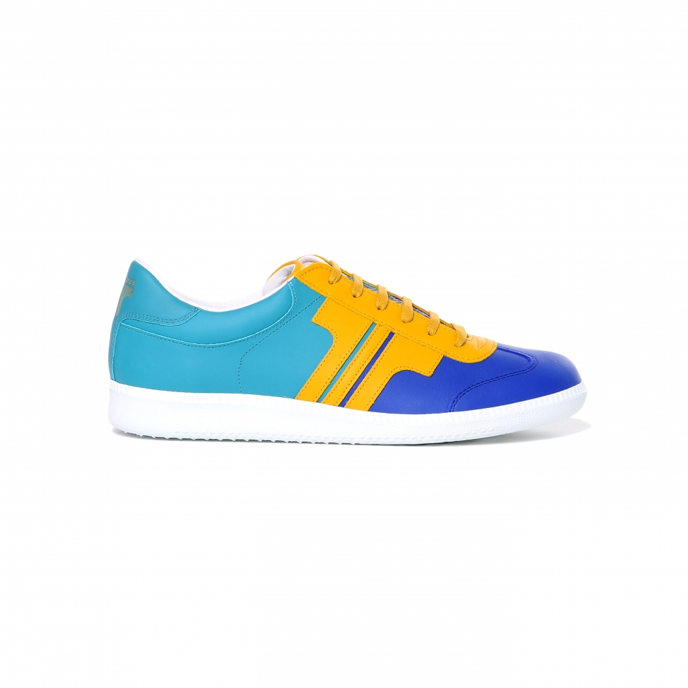 Tisza Shoes - Compakt - indigo-yellow-aqua
